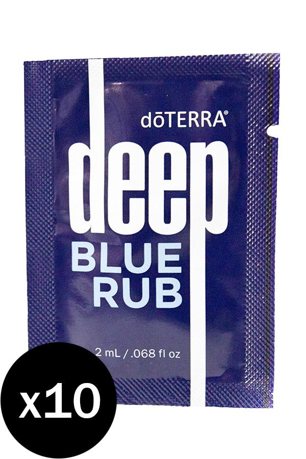 deep blue rub proben