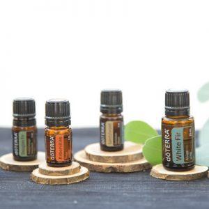 Verwendung der ätherischen Holz Öle von doTERRA