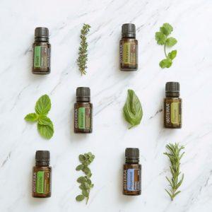 Verwendung der pflanzlichen ätherischen Öle von doTERRA