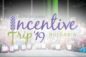 doTERRA Europe 2019 Incentive Trip Bulgarien