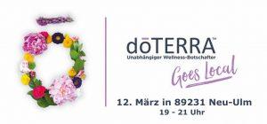 doTERRA goes local Wellness-Botschafter Event - Neu Ulm