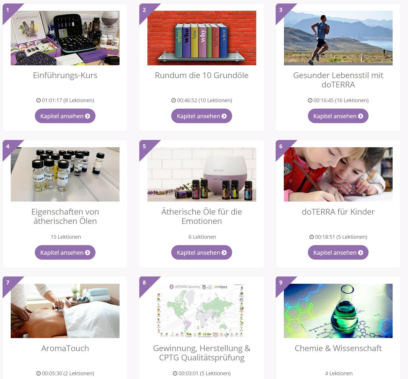 doTERRA Schulung und Online Akademie