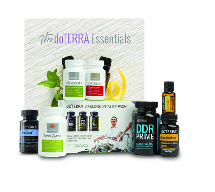 doTERRA Cleanse and Restore Enrolment Kit